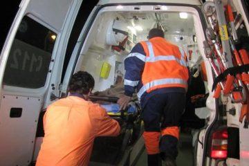 Accident la Bozienii de Sus – Ruginoasa: o femeie la volanul unui tractor cu remorcă a acroșat un bătrân