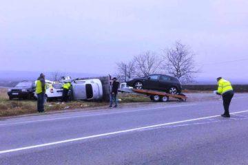Accident rutier grav provocat de un șofer care conducea un autoturism în regim de taximetrie