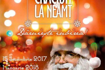 """Ionel Arsene: """"Dragi nemțeni, vă aștept la o nouă ediție a Târgului de Crăciun la Neamț!"""""""