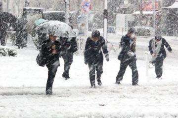 O nouă avertizare meteo: 02 decembrie, ora 18.00 – 03 decembrie, ora 23.00