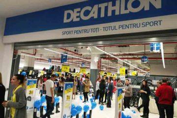 DECATHLON a inaugurat magazinul din Piatra-Neamț