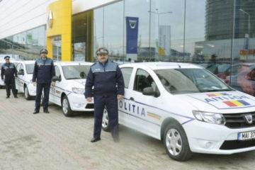 Șapte autoturisme Dacia Logan au fost repartizate polițiștilor nemțeni pentru misiunile operative