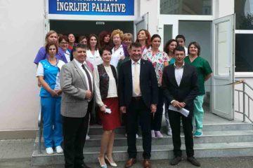 Alinare pentru bătrâni: a fost inaugurat Compartimentul Îngrijiri Paliative, la Spitalul Roman