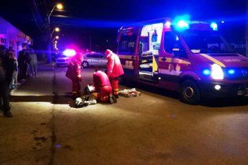 Accident rutier: un bărbat a fost accidentat mortal în timp ce traversa strada