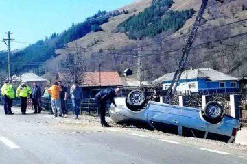 Accident rutier cu patru victime, astăzi în Neamț