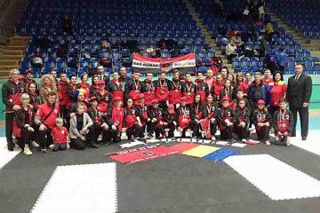 Performanță deosebită a sportivilor Clubului BAO Roman la Campionatul European – 6 medalii de aur, 3 de argint, 8 de bronz