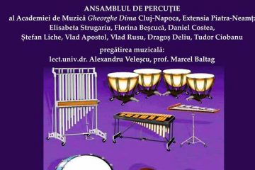 Concert inedit la Roman, în sala de festivități a Primăriei. Intrarea este liberă