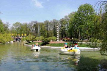 În ziua de Florii, romașcanii au ales Parcul Municipal pentru plimbare și relaxare alături de cei dragi