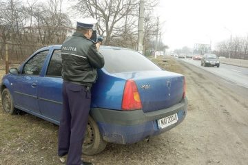 Nici nu știți de unde apare…radarul! Polițiștii rutieri din Neamț sunt cu ochii pe vitezomani