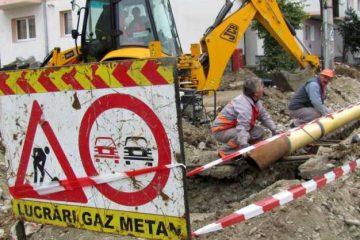 Distribuția a gazelor naturale va fi sistată luni, 10 iunie, pe patru străzi din municipiul Roman