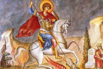 29 aprilie: La mulți ani, celor care poartă numele Sfântului Mare Mucenic Gheorghe
