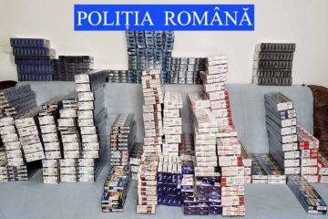 Polițiștii din Săbăoani au descoperit 41.400 de țigarete și sute de pachete de cafea, fără documente