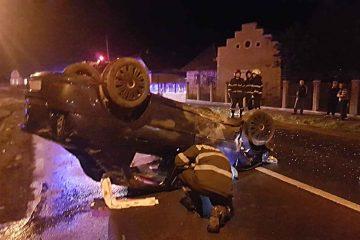 O tânără din Neamț, beată la volan, a provocat un accident cu cinci victime