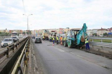 Săptămâna viitoare se va asfalta DN2 – porțiunea de pe podul de la Horia – cartier Favorit