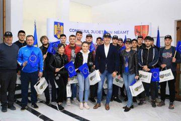 Elevi din Raionul Orhei – Republica Moldova, în vizită la Consiliul Județean Neamț