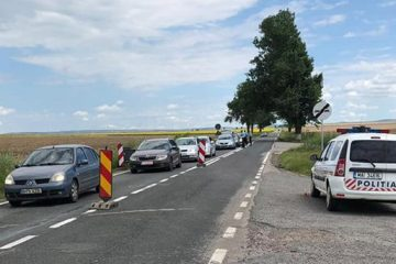 Un bărbat din Roman, care nu a oprit la semnalele polițiștilor, a fost urmărit 100 de km. A fost prins și reținut la Horia