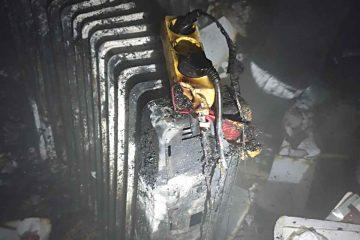 Neamț: incendiu într-un apartament – au ars lucrurile dintr-o cameră și hol
