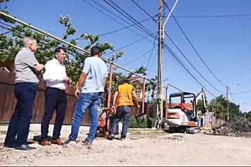 Primarul Lucian Micu verifică periodic modul cum se desfășoară lucrările de pe șantierele din Roman