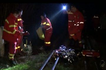 Neamț: un bărbat a murit după ce a fost accidentat de locomotivă
