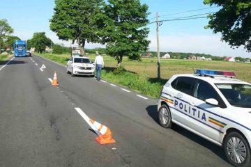 Neamț: circulație întreruptă pe DN 15B. O persoană moartă a fost găsită pe marginea drumului