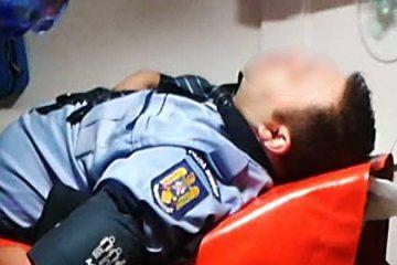 Neamț: un polițist aflat în timpul serviciului a fost bătut de un scandalagiu