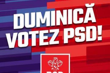 Votați pentru stabilitatea țării, votați pentru dezvoltare, votați Patrioți în Europa!
