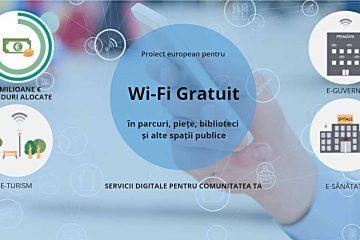 Localități din Neamț care vor beneficia de 15.000 de Euro, fiecare, pentru WIFI gratuit, prin programul WiFi4EU