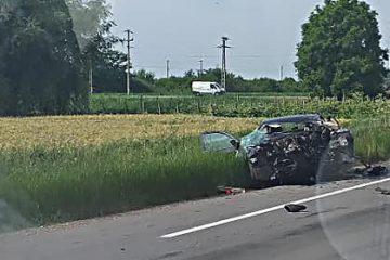 De ultimă oră: accident foarte grav la Secuienii Noi, pe E85