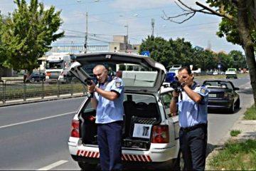 Acțiune a polițiștilor rutieri din Neamț, cu radare inscripționate și neinscripționate: 100 de permise reținute