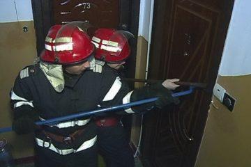 Pompierii detașamentului Roman au acționat de urgență dar bărbatul nu a mai putut fi salvat