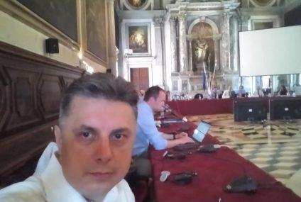 Președintele PNL Neamț Mugur Cozmanciuc participă la Consiliul pentru Alegeri Democratice – Comisia de la Veneția