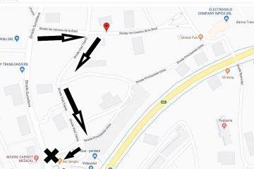 Atenție! Modificări în circulația rutieră pe unele străzi din municipiul Roman