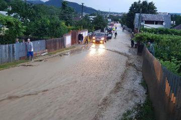 Neamț: Pagube importante în urma ploilor din această seară