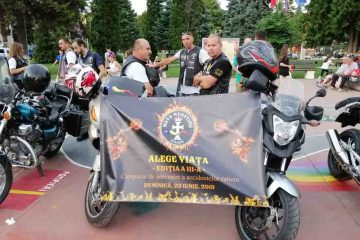 """""""Alege viața"""" – eveniment în Piața Roman Vodă, duminică, 23 iunie: cascadorii și paradă moto"""