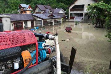 Avertizare ISU Neamț: ploi și furtună și în zilele următoare. Respectați următoarele recomandări