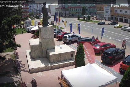 Salon auto, în direct, în Piața Roman Vodă