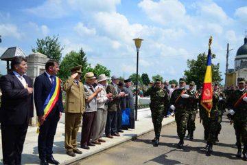 Înălțarea Domnului și pomenirea eroilor neamului românesc la Cimitirul Eternitatea, din Roman