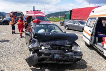 Nouă victime în accidentele rutiere produse în acest weekend, în Neamț