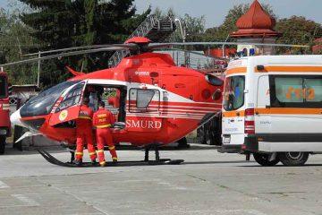 Intervenții Ambulanța Neamț: fetiță, victimă într-un accident rutier și un bărbat în stare gravă după ce și-a dat foc