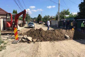 Primarul Lucian Micu supraveghează investițiile în derulare și rezolvă problemele semnalate de romașcani