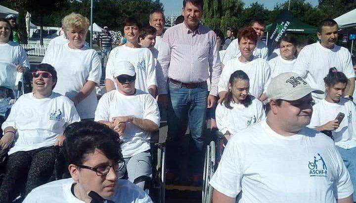 Cursa fotoliilor rulante la MTB Roman Maraton, astăzi, la Complexul de Agrement Moldova Roman