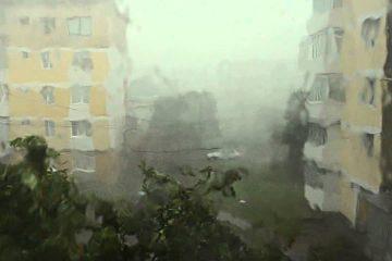 Avertizare meteo: manifestări de instabilitate atmosferică și cantități de apă însemnate