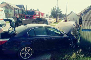 Astăzi, la Cordun: accident rutier – două mașini implicate