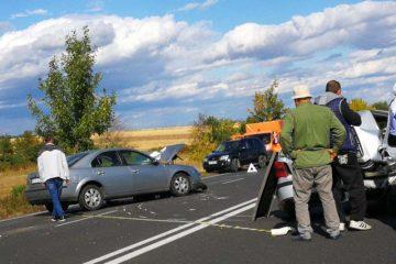 Accident pe E85, la ieșirea din Buzău, produs de un șofer de 56 de ani din Neamț