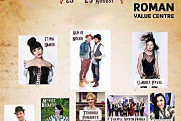 Trei zile de festival, la Roman Value Centre, cu mici, bere, mâncăruri tradiționale, parc de distracție și multă muzică