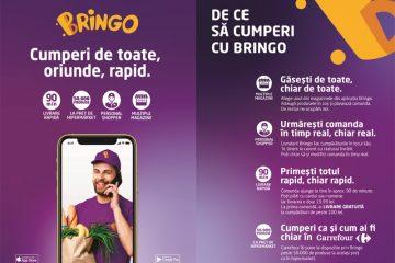 BRINGO – prima platformă care îți aduce cumpărăturile acasă, prin livratori specializați