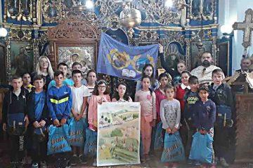 Daruri pentru copiii silitori, în Parohia Bârjoveni – comuna Secuieni