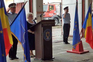 Festivitate de avansare în grad și de depunere a jurământului la ISU Neamț și Inspectoratul de Jandarmi Neamț