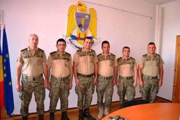 """Festivitate de înaintare în grad a unor ofițeri și subofițeri – Baza 3 Logistică """"Zargidava"""" Roman"""