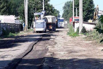Roman: o stradă a intrat în reparații capitale. Traficul este blocat până pe 12 august